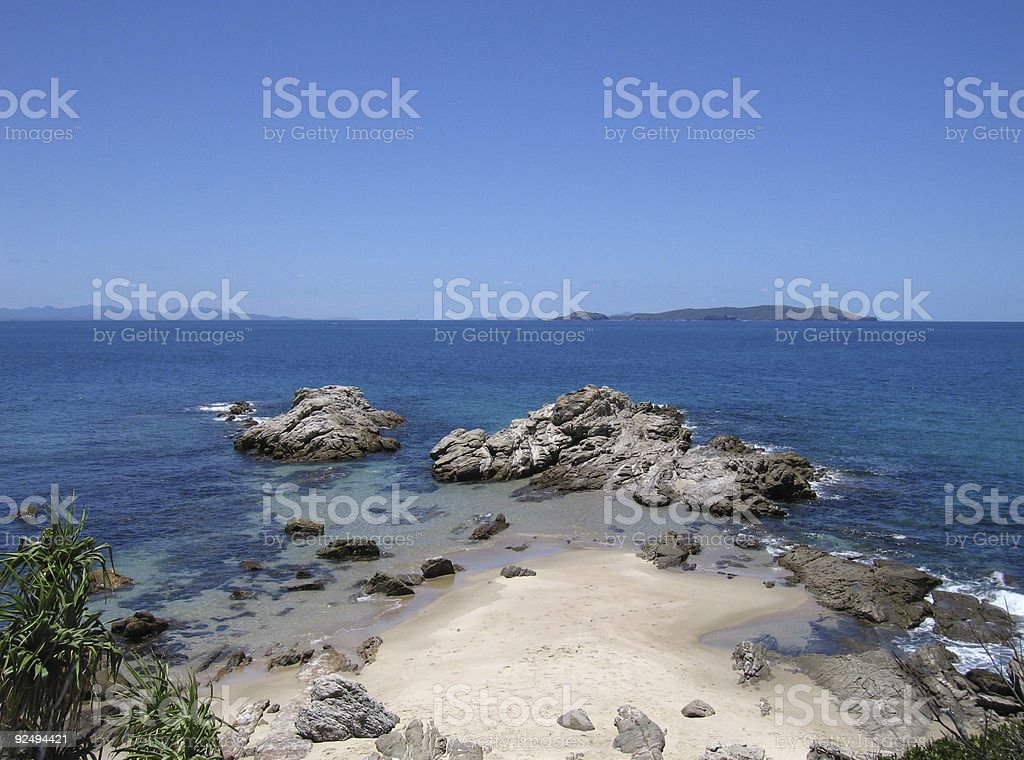 Great keppel island australia-3 royalty-free stock photo