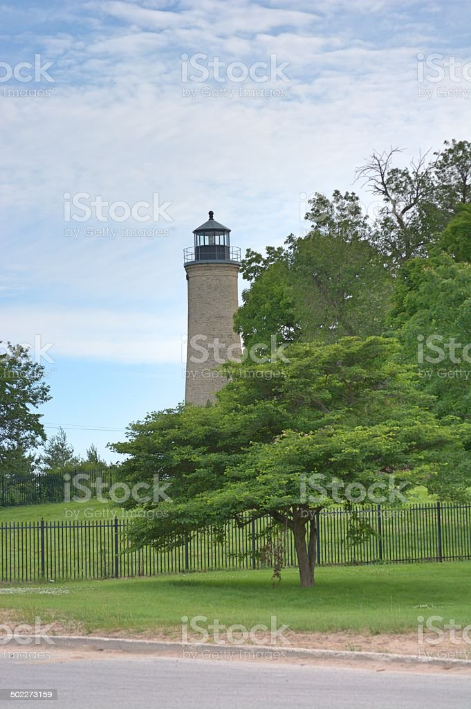 Great Lake Lighthouse stock photo