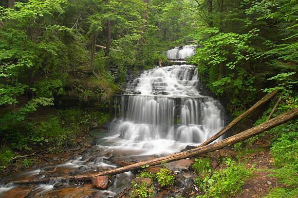 Great Lakes Waterfall stock photo