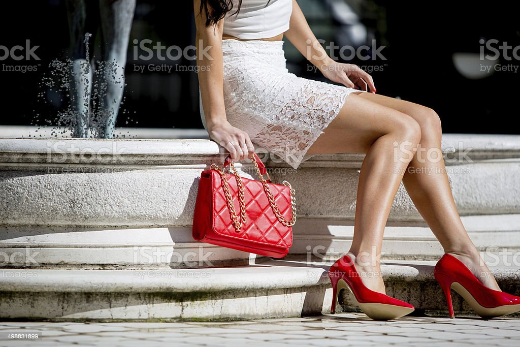 Great legs royalty-free stock photo