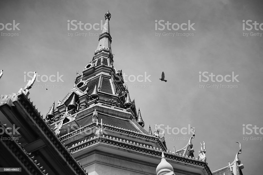 great marble church ,Black and white picture style photo libre de droits