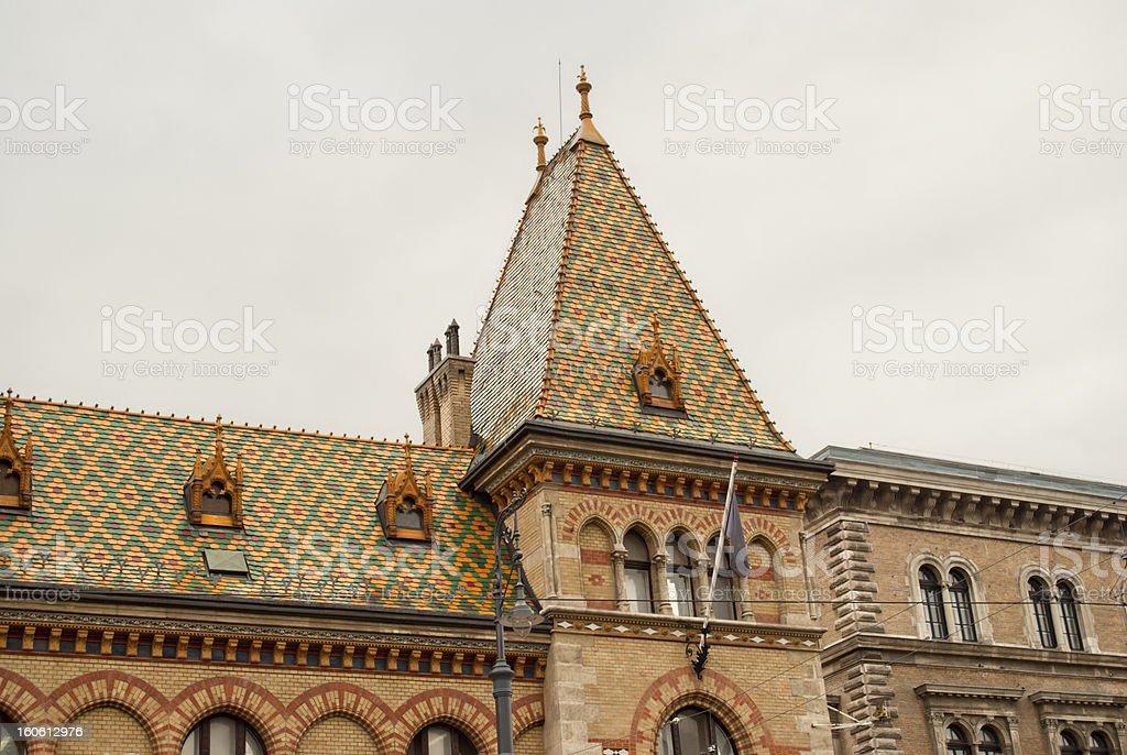 Great Market Hall (Budapest) royalty-free stock photo