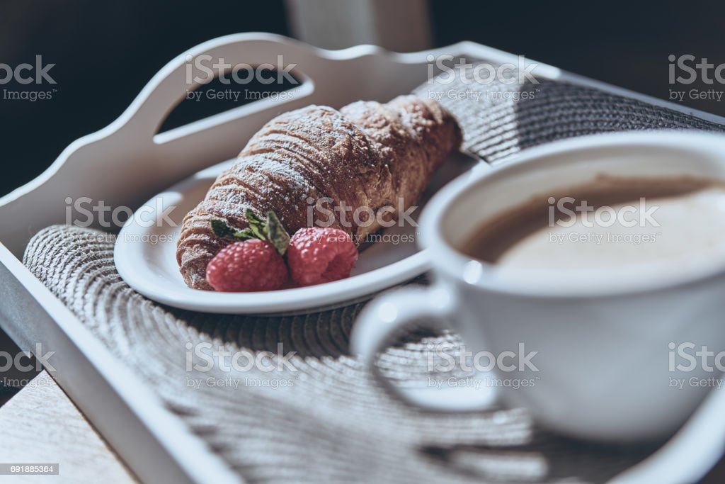 Great morning meal. stock photo