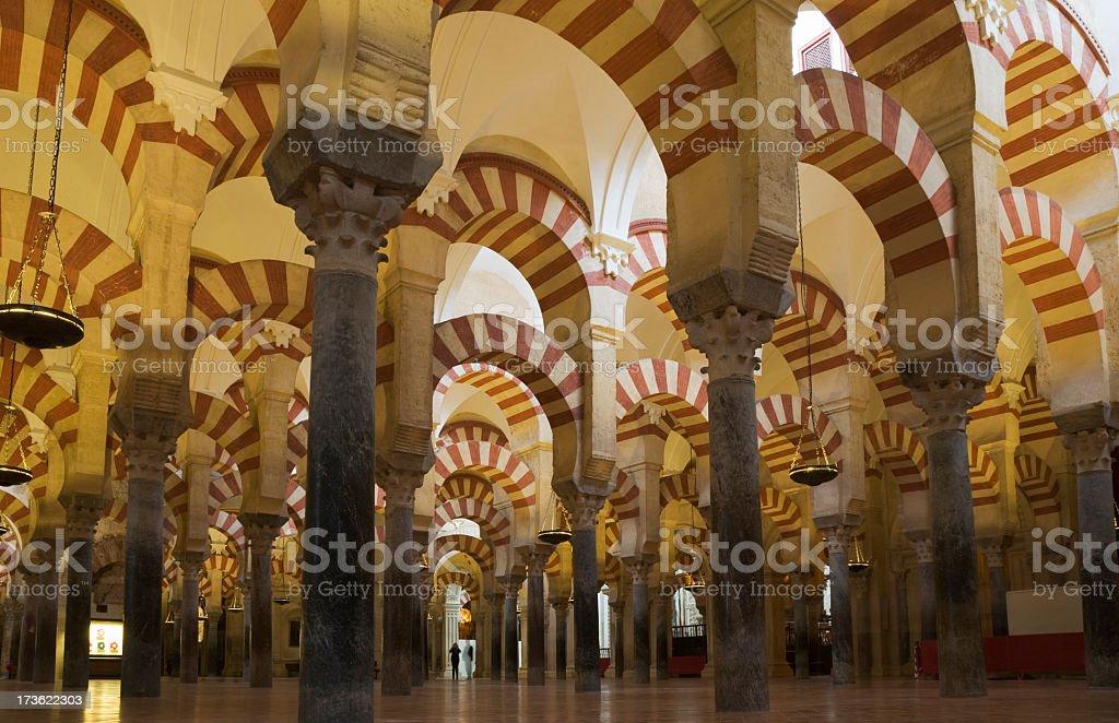 Great Mosque -Aljama- of Cordoba royalty-free stock photo