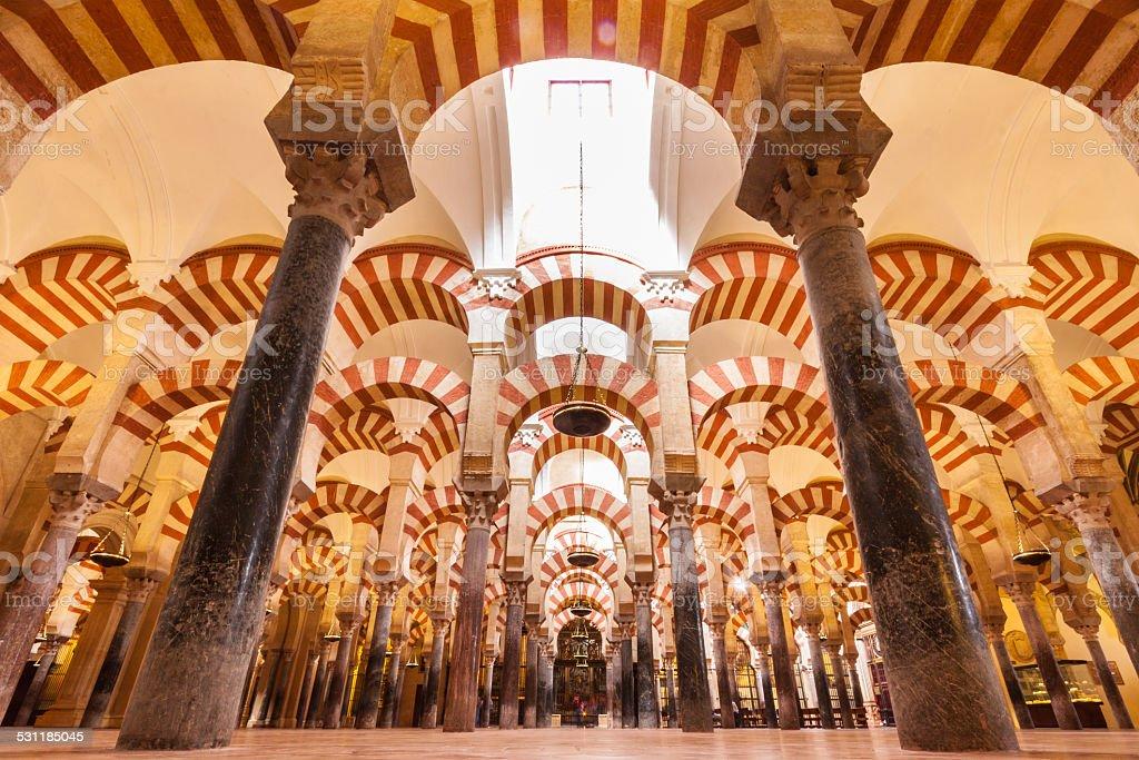 Große Moschee von Côte ³ rdoba - Lizenzfrei 2015 Stock-Foto