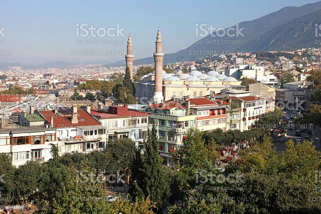 Great Mosque (Ulu Cami) stock photo