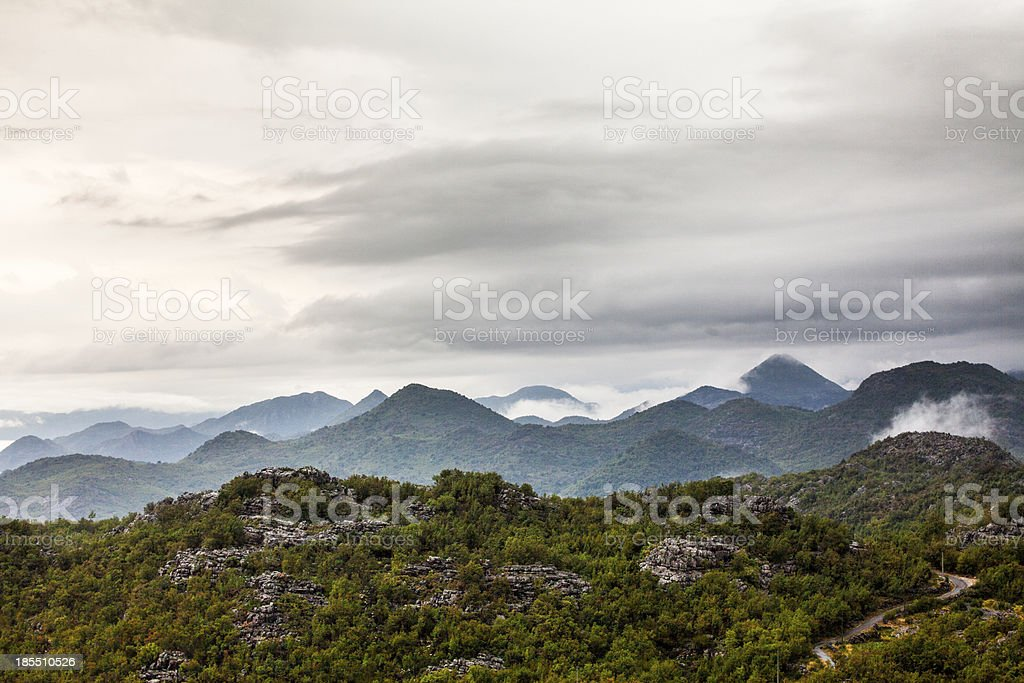 Great mountains royalty-free stock photo