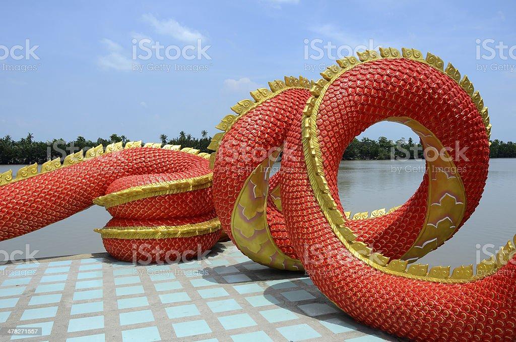 Great Naga. royalty-free stock photo