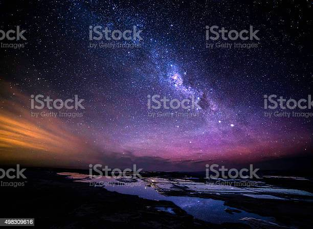 Photo of Great Ocean Road at night milky way view
