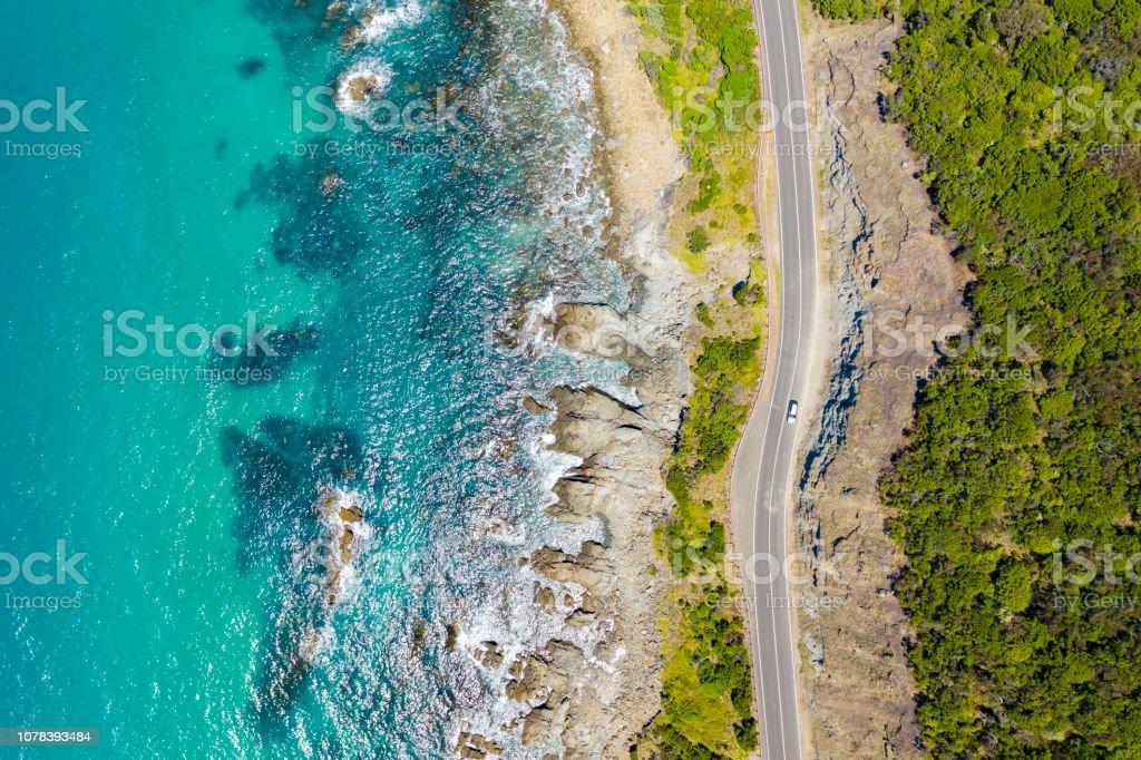 Great Ocean Road in Australia royalty-free stock photo