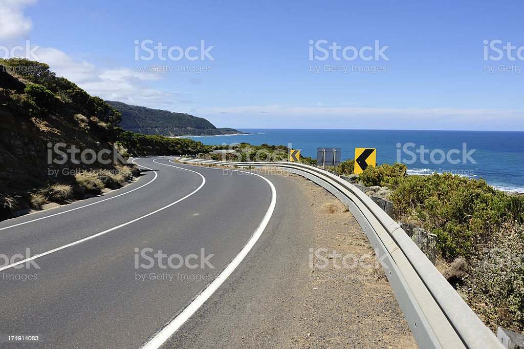 Great Ocean Road royalty-free stock photo