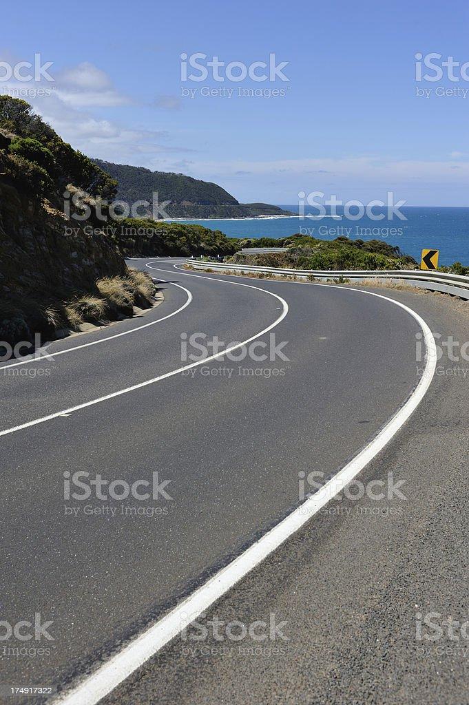 Great Ocean Road royalty-free stock photo