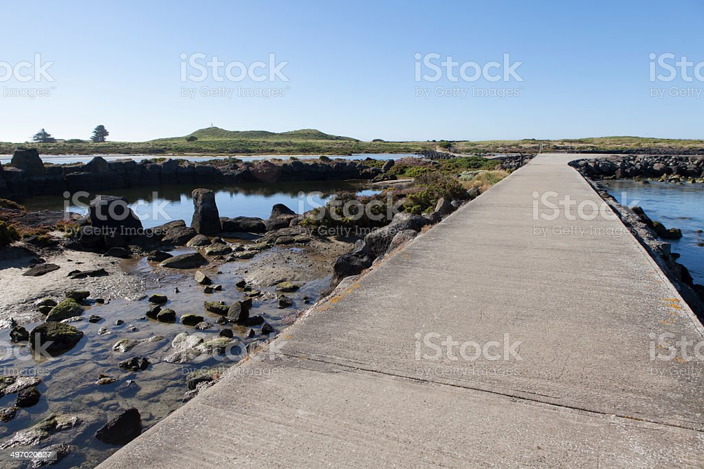 Great Ocean Road, Port Campbell. stock photo