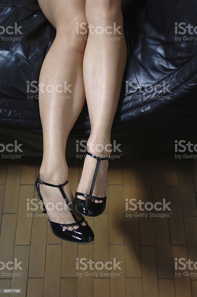 Great pair of legs royalty-free stock photo