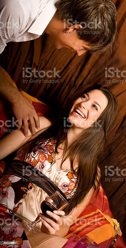 great pickup line royalty-free stock photo