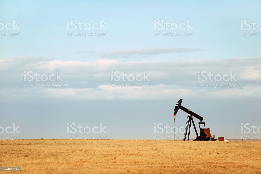 Great Plains royalty-free stock photo