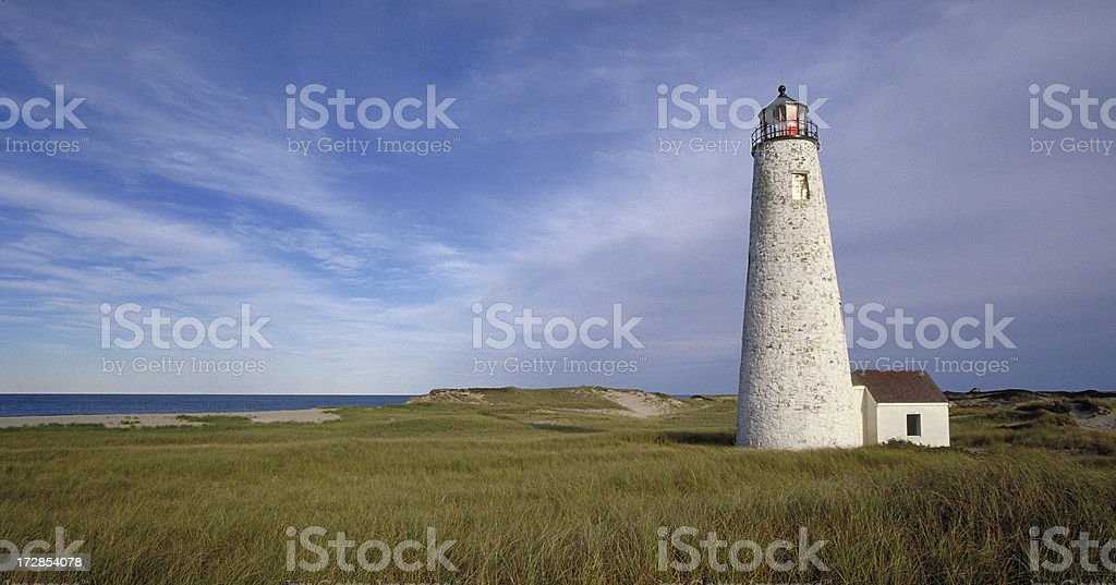 Great Point Lighthouse stock photo