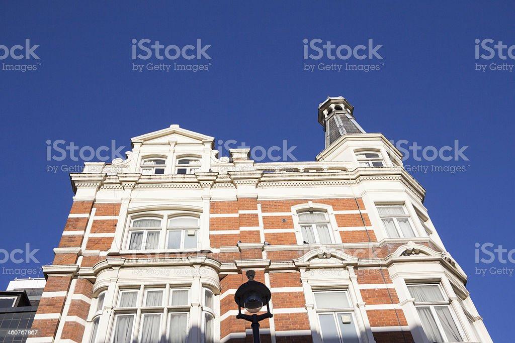 Great Portland Street in London, England royalty-free stock photo