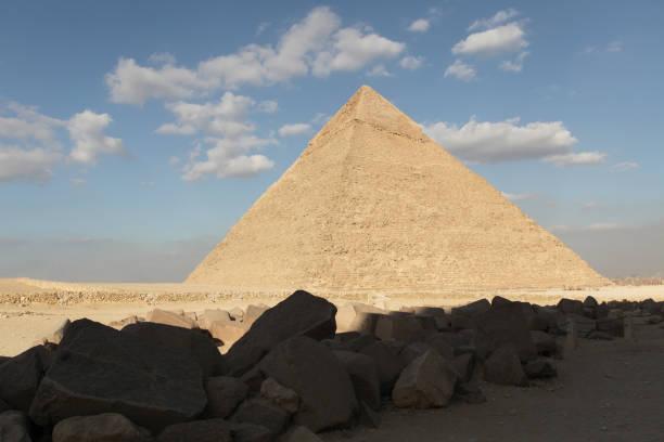 Great Pyramid of Giza Egypt stock photo