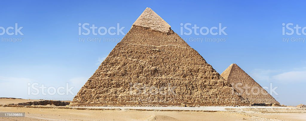 Great Pyramid of Giza - Egypt royalty-free stock photo