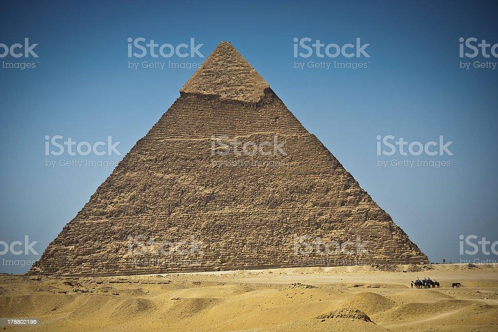 Great Pyramid of Giza, Egypt stock photo