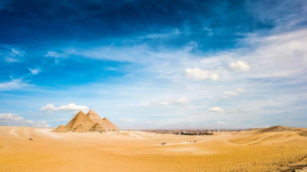 Großen Pyramiden von Gizeh, Ägypten – Foto