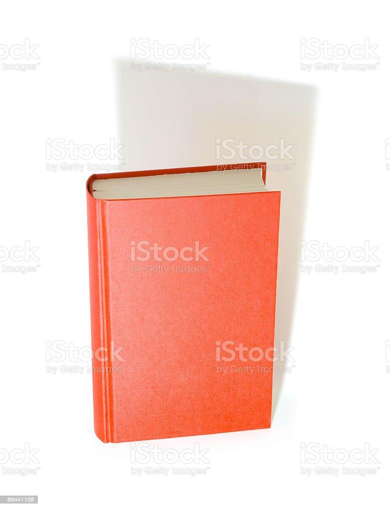 Grande libro rosso foto stock royalty-free