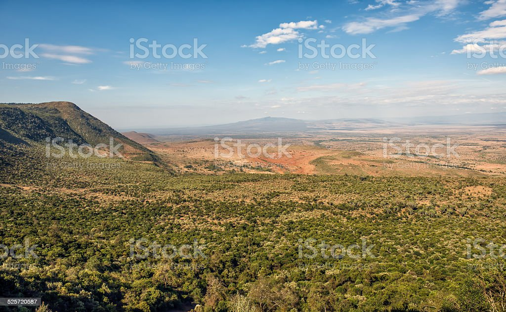 Great Rift Valley, Kenya stock photo