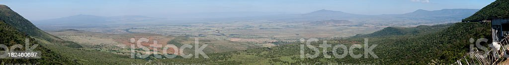 Great Rift Valley royalty-free stock photo