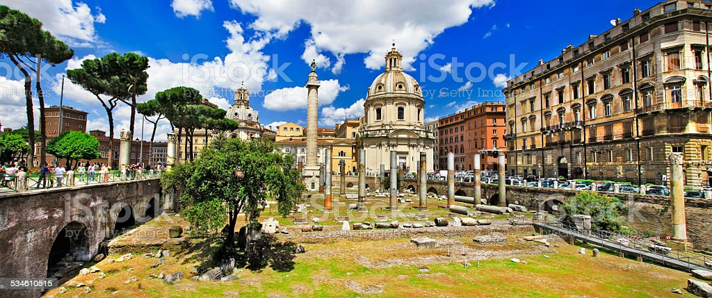 Great Rome stock photo