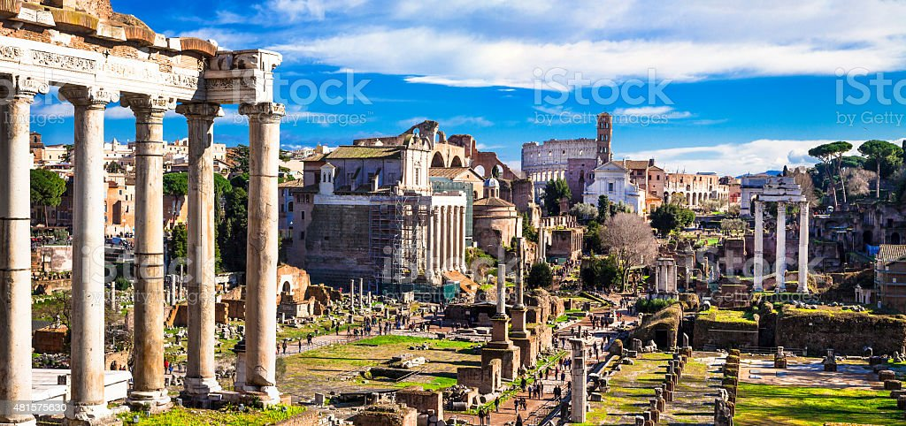 Great Rome,Italy. stock photo