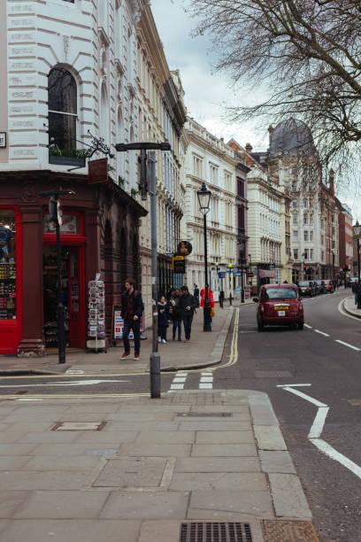 Great Russell Street, London stock photo
