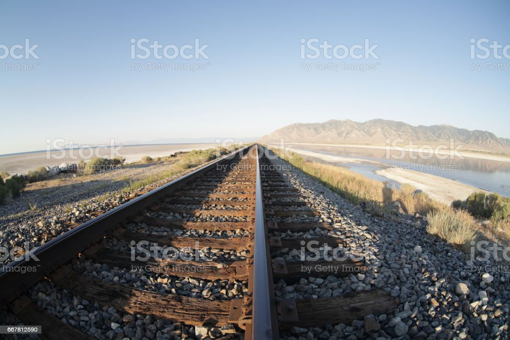 Great Salt Lake Desert Utah Stock Fotografie Und Mehr Bilder Von