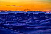 Lake Michigan shoreline at the Indiana Dunes State Park