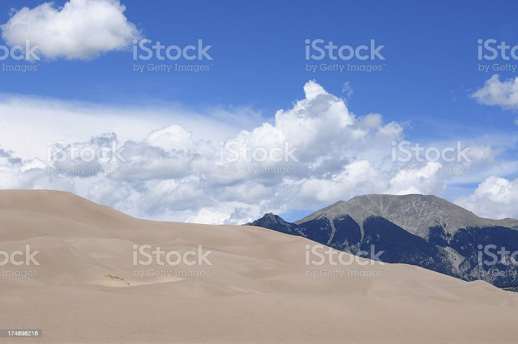 Great Sand Dunes National Park, Colorado royalty-free stock photo
