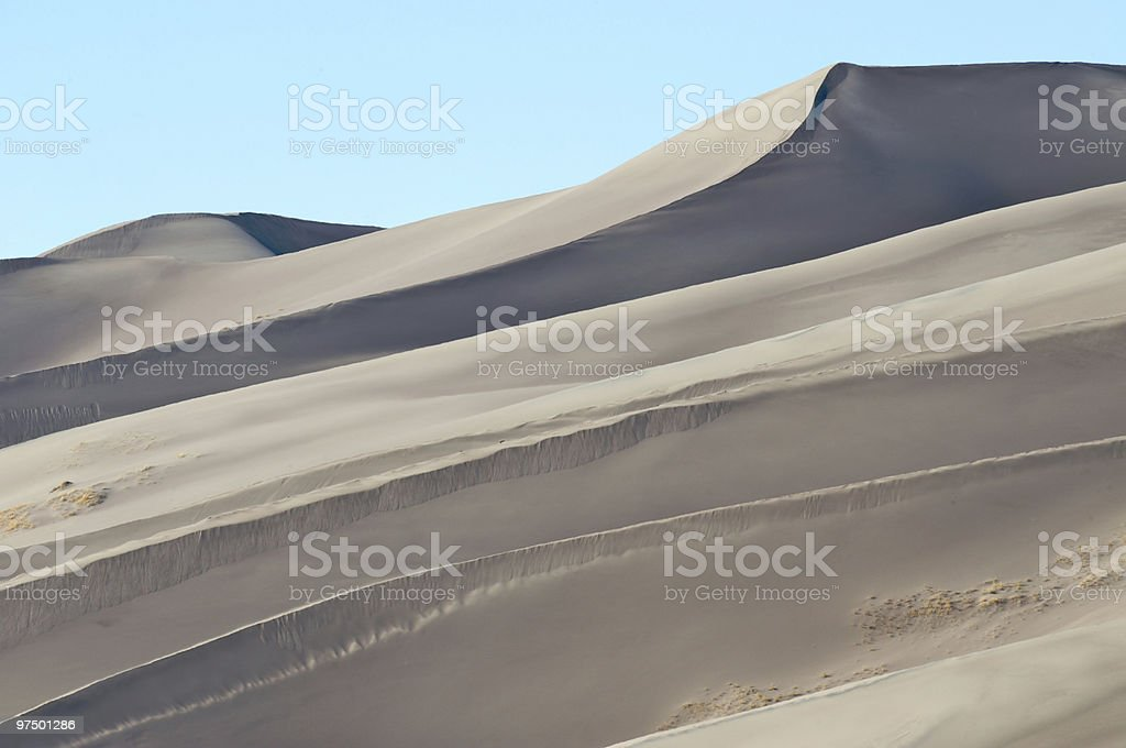 Great Sand Dunes National Park, Colorado. royalty-free stock photo