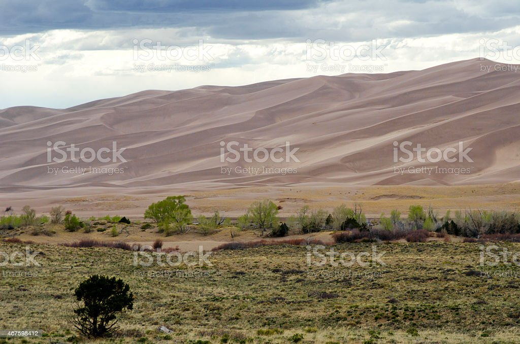 Great Sand Dunes National Park stock photo