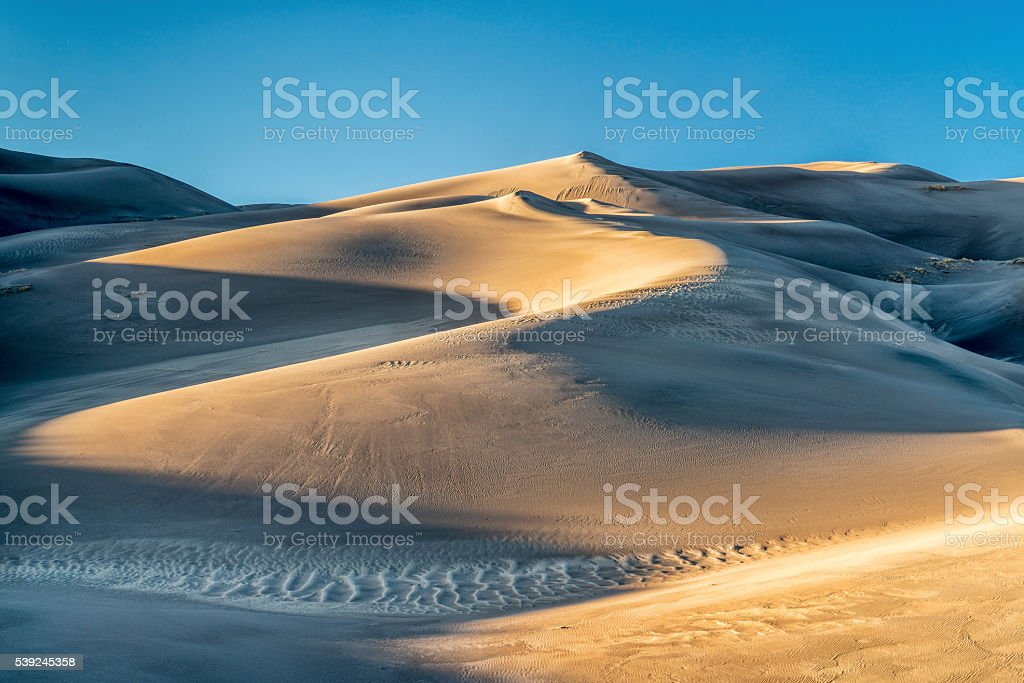 Great Sand Dunes National Park royalty-free stock photo