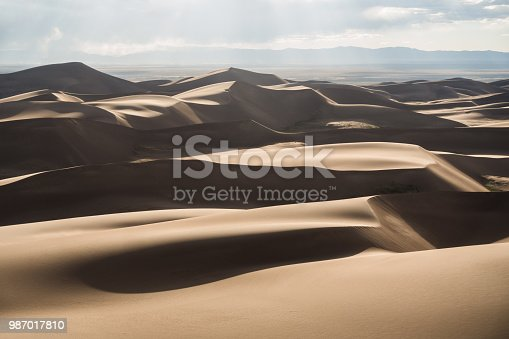 Great Sand Dunes National Park. View from High Dune.
