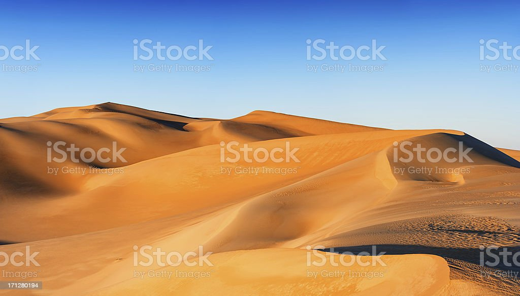 Great Sand Sea, Libyan Desert, Africa stock photo
