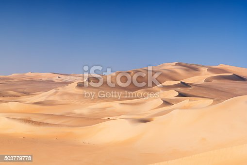 Sand dunes on Libyan Desert, part of Sahara Desert. The Sahara Desert is the world's largest hot desert.http://bem.2be.pl/IS/egypt_380.jpg