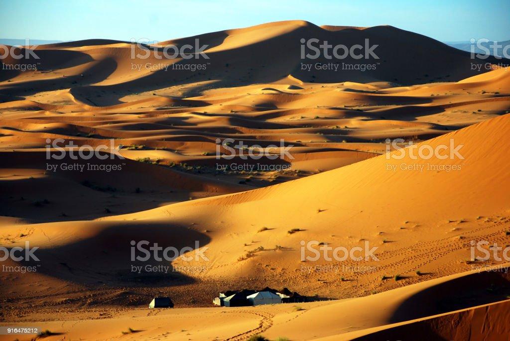 Great Sand Sea, Sahara Desert, Africa stock photo