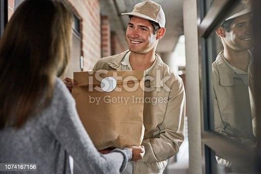1053001624istockphoto Great service is all a part of the job 1074167156