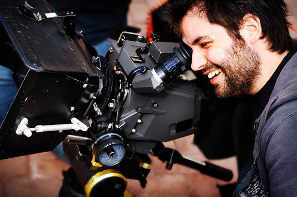 great shot - film director stock pictures, royalty-free photos & images
