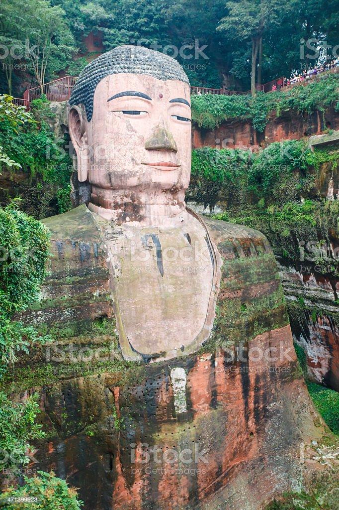 Great Sitting Budda - Royalty-free Awe Stock Photo