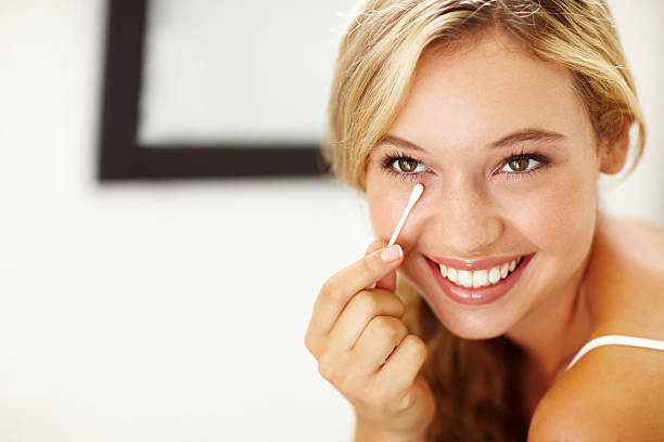 Great skincare down to the smallest details stock photo