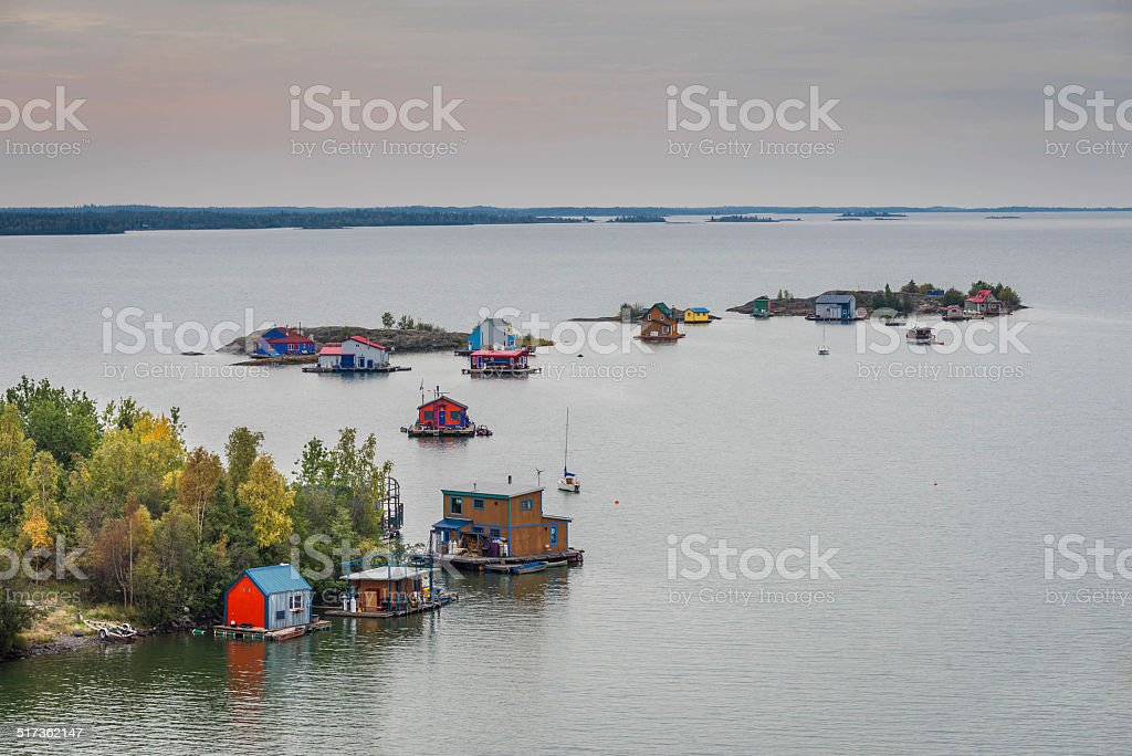 Great Slave Lake stock photo