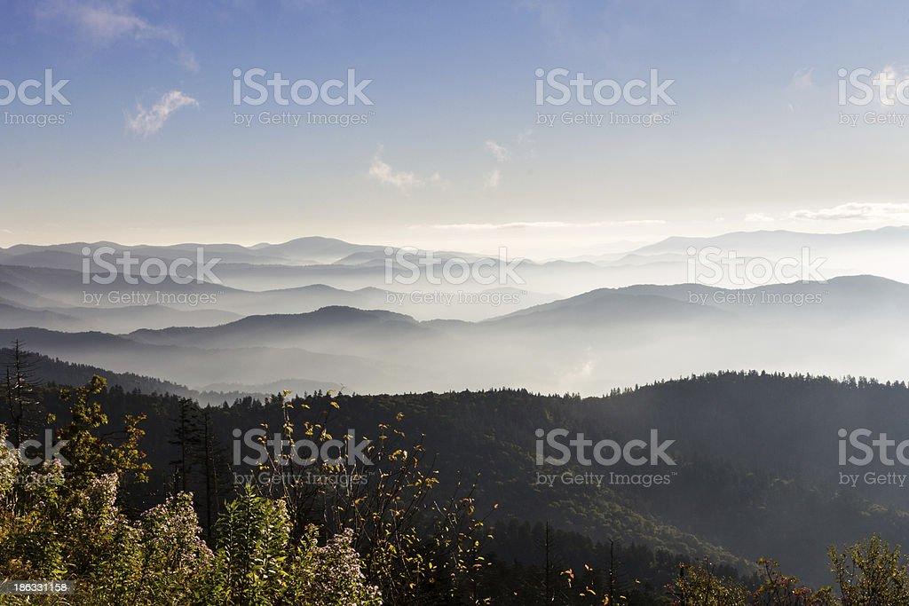 Great Smoky Mountains - Clingman's Dome royalty-free stock photo