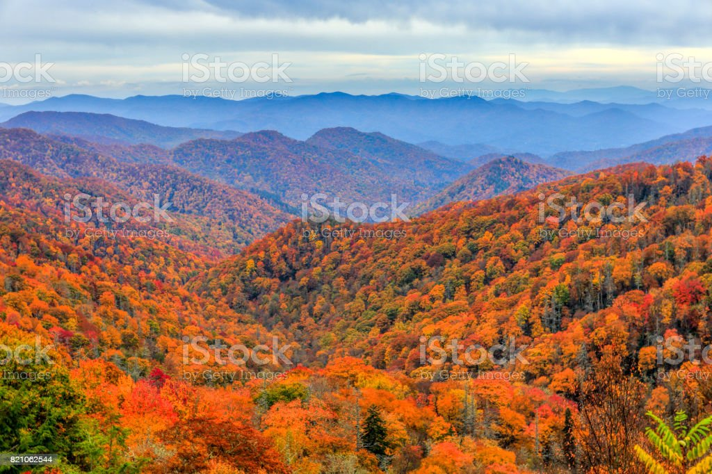 Great Smoky Mountains National Park, North Carolina stock photo