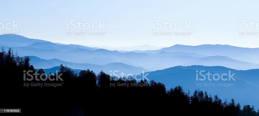 Great Smoky Mountains National Park royalty-free stock photo